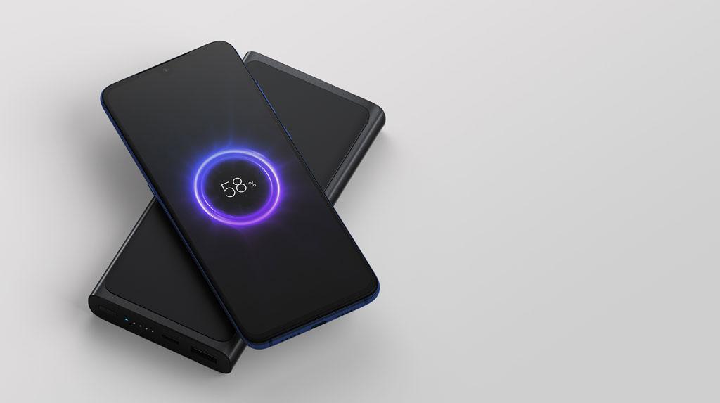 Внешний аккумулятор с беспроводной зарядкой Xiaomi Mi Wireless Powerbank 10000mAh